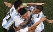 马克红在梅西上台抢救紧张的阿根廷队世界杯